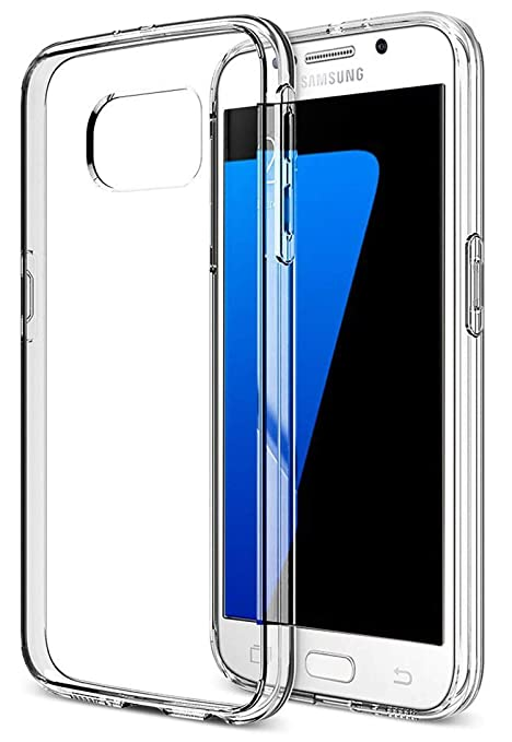 LUCKLYSTAR® Carcasa para Samsung Galaxy S6 Slim Transparente TPU Silicona Funda Anti-Rasguño Anti-Golpes Protective Case para Samsung Galaxy S6(1PCS)
