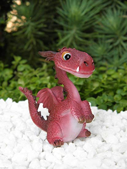 Miniature FAIRY GARDEN Standing Dragon Figurine