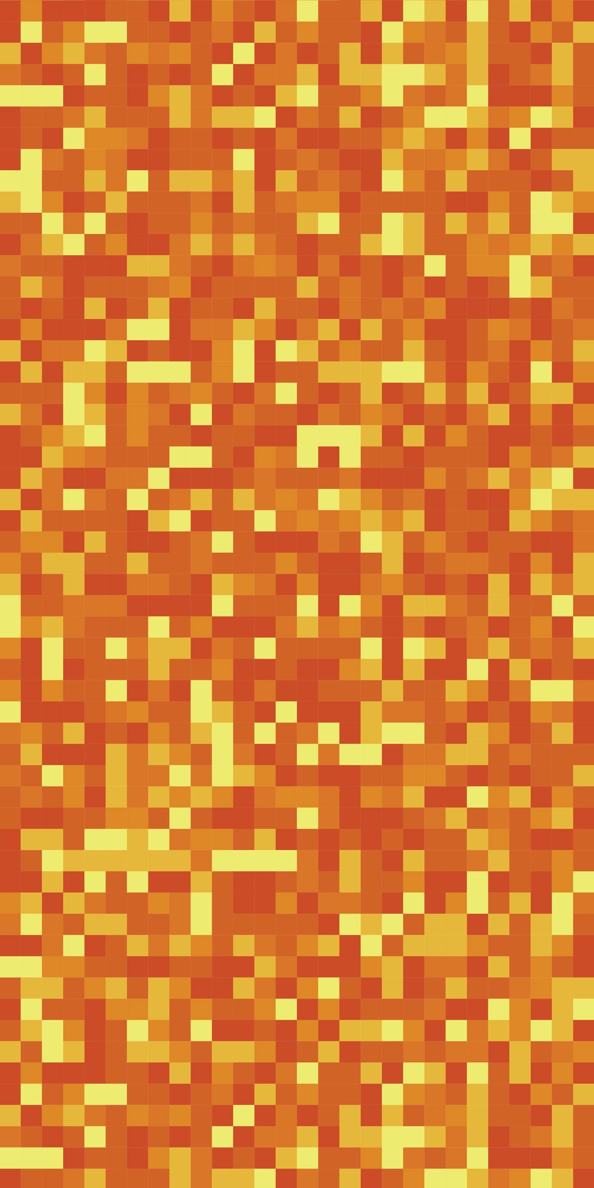 Custom Sized Orange Lava Pixel Mine Blocks Replacement Tarp  Canopy for Playset: Up to 70 Sq Ft Tarp Size by Monkey Bar Tarps LLC (Image #3)