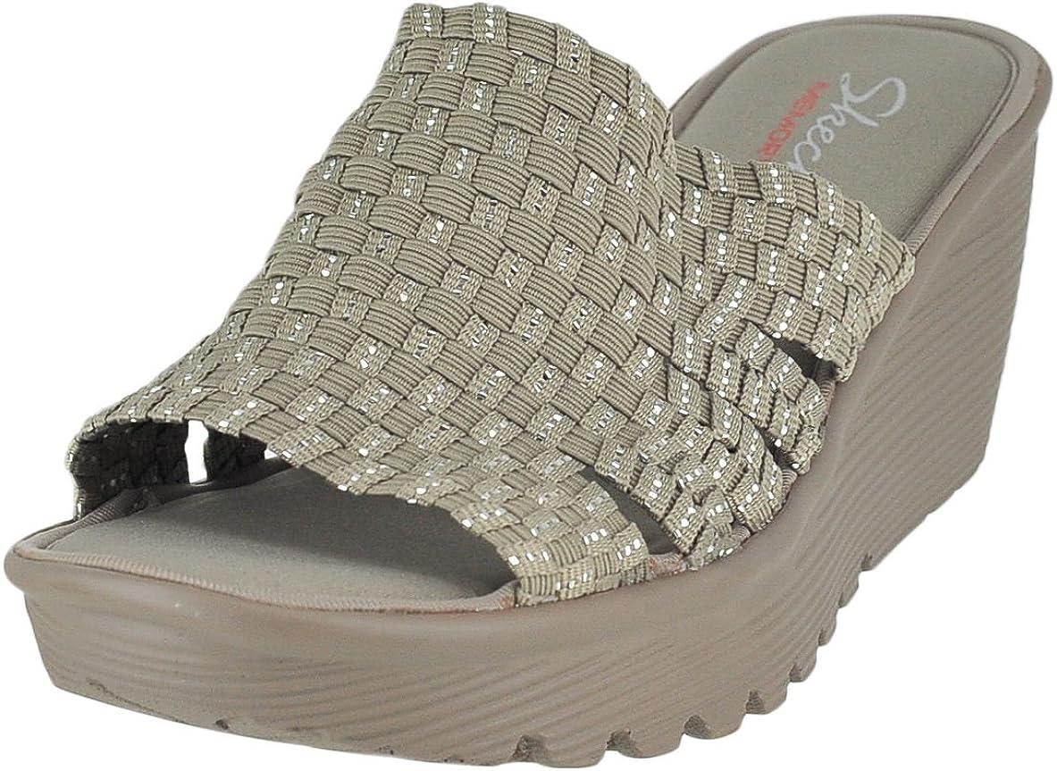 skechers memory foam sandals amazon women's