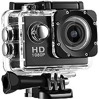 Teqbee 1080P Waterproof Sport Action Camera 2 Inch LCD Screen 12 Mp Full Hd