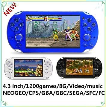 Videospiele Retro Arcade Video Game Konsole 16 Gb Speicher 4,3 tragbare Handheld-spiel-spieler Mit Eingebaute 3000 Klassische Spiele Tv Spiel Arcade Unterhaltungselektronik