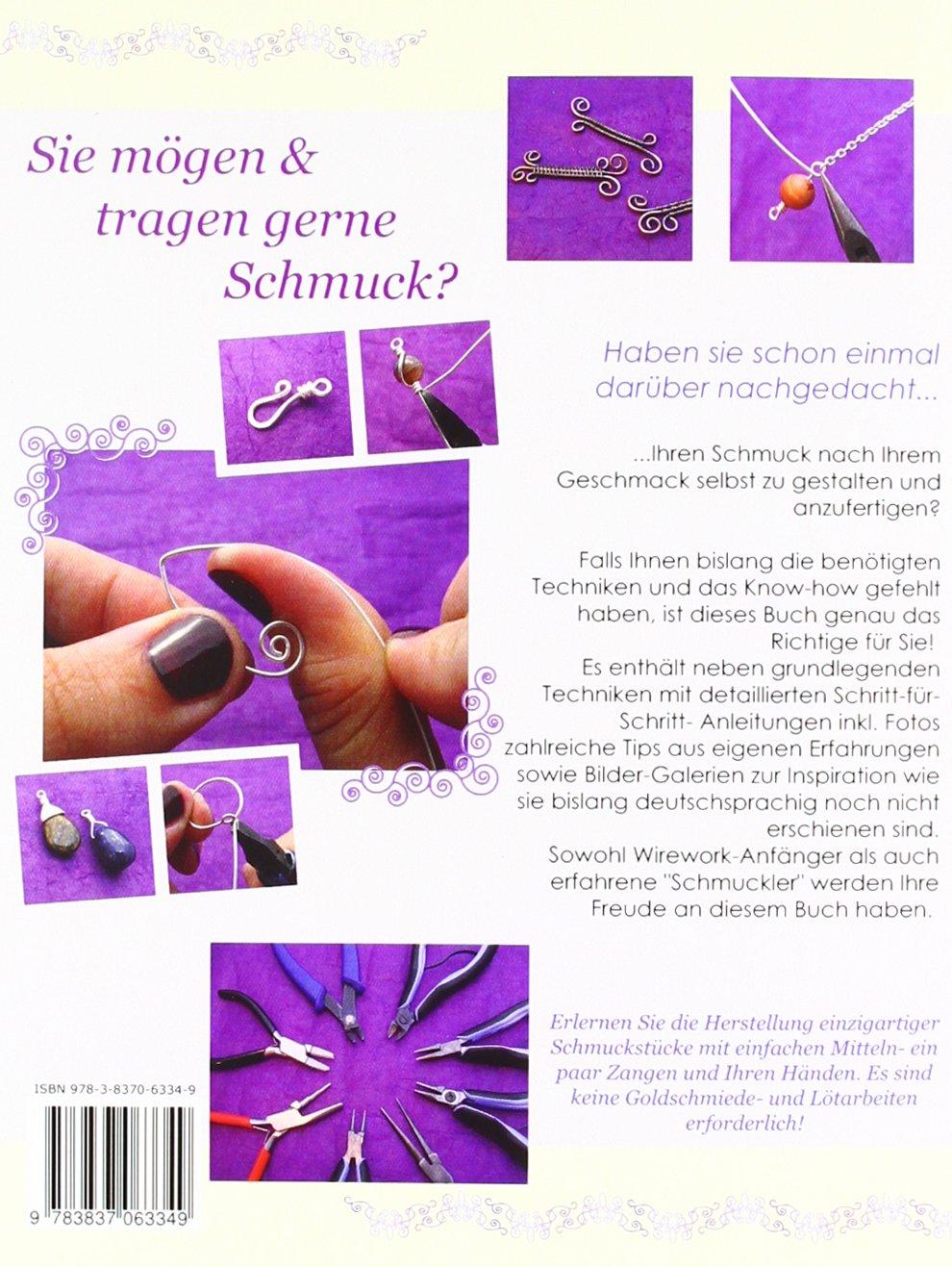 Faszination Draht 1: -Grundlegende Wirework- Techniken & Inspiration ...