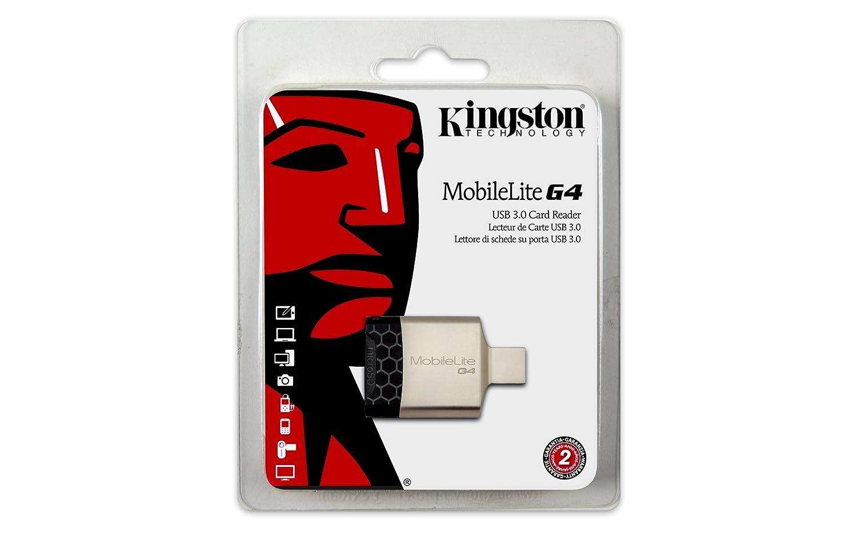 Kingston MobileLite G4 - Lector de Tarjetas de Memoria USB 3.0