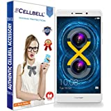 CELLBELL® Tempered Glass Screen Protector For Huawei Honor 6X With FREE Installation Kit