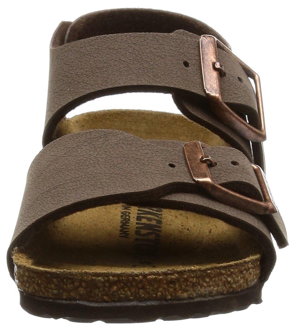 Birkenstock Unisex-Child New York Kids Mocca Birkibuc Sandals 24.0 N EU N 087783 by Birkenstock (Image #4)