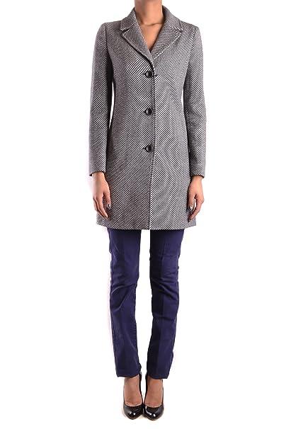 timeless design 9acf7 de2c6 ARMANI JEANS Cappotto - Donna Grey 38: Amazon.it: Abbigliamento