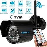 """szsinocam 1/4"""" CMOS IP Cámara H.264 720P Inalámbrica Wifi CCTV ONVIF Impermeable Visión Nocturna Detección de Movimiento Seguridad de Hogar"""