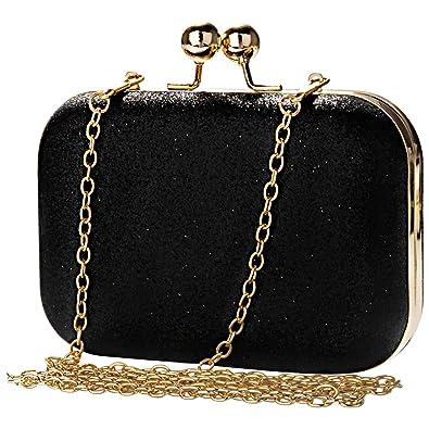 75e08a93b3 Womens Evening Bag Clutch Bag,Bakacase Shoulder Bag Cross Body Bag Bling  Bling Glitter Wedding