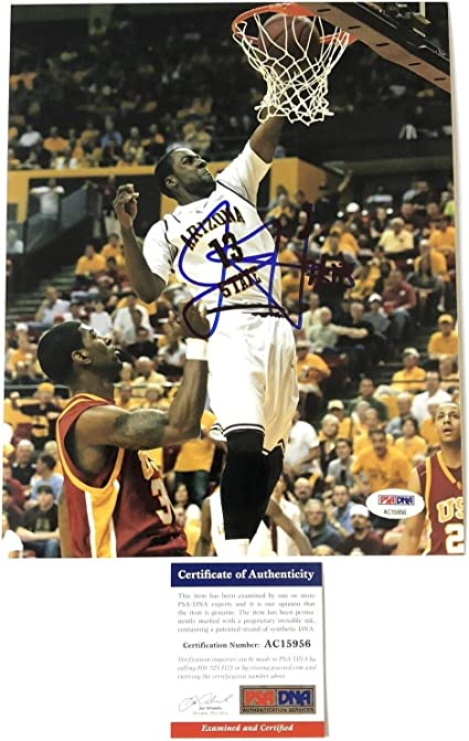 James Harden signed 8x10 photo PSA/DNA Houston Rockets Autographed Arizona Sun D at Amazon's Sports Collectibles Store