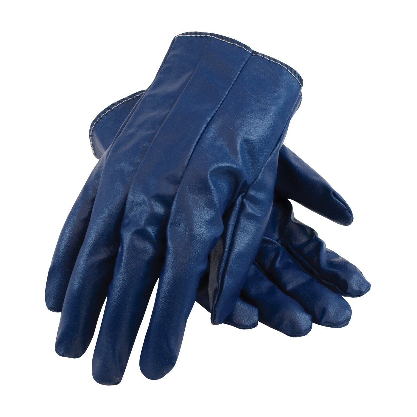 Excalibur 60-3106/L Nitrile Coated Cotton Glove with Fully Laminated Back, Ladies'