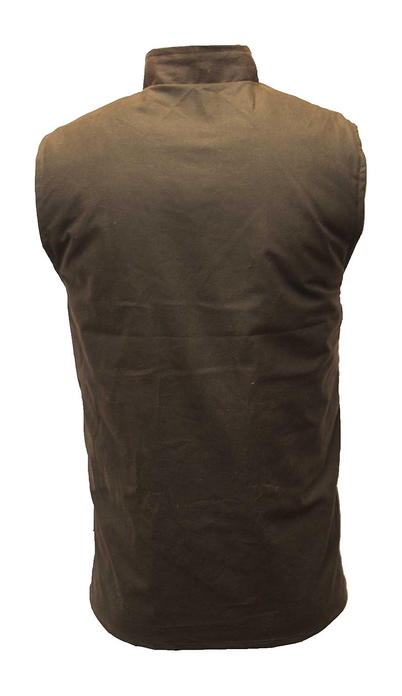 Mens Wax Bodywarmer Vest Countrywear Waistcoat Walker /& Hawkes