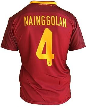 Camiseta de fútbol para niños o adolescentes, Roma, Radja Nainggolan, 4, réplica