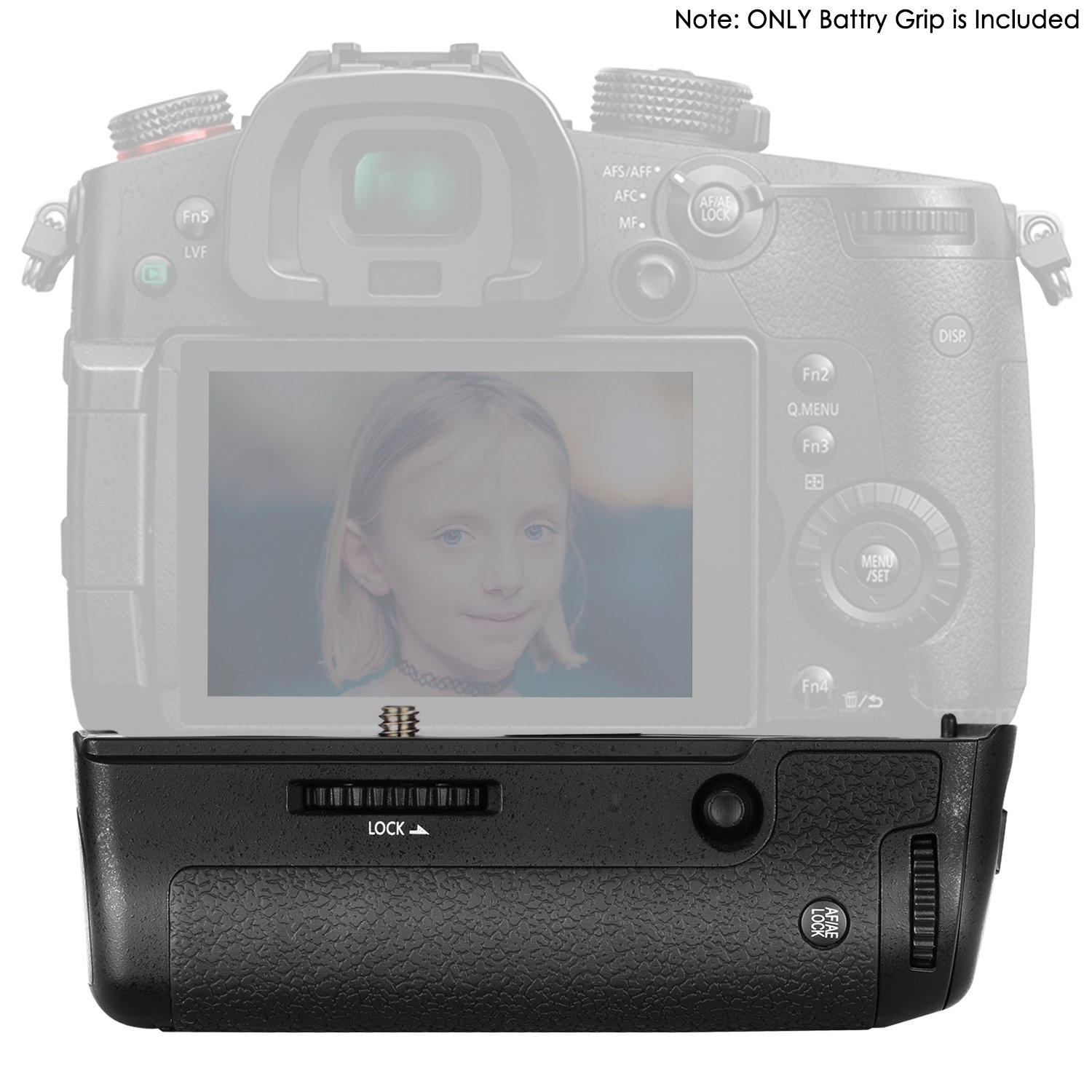 Work with 1 Pack DMW-BLF19E Li-ion Battery Battery NOT Included Fit for Panasonic LUMIX GH5 Mirrorless Camera Neewer Vertical Battery Grip replacement for DMW-BGGH5
