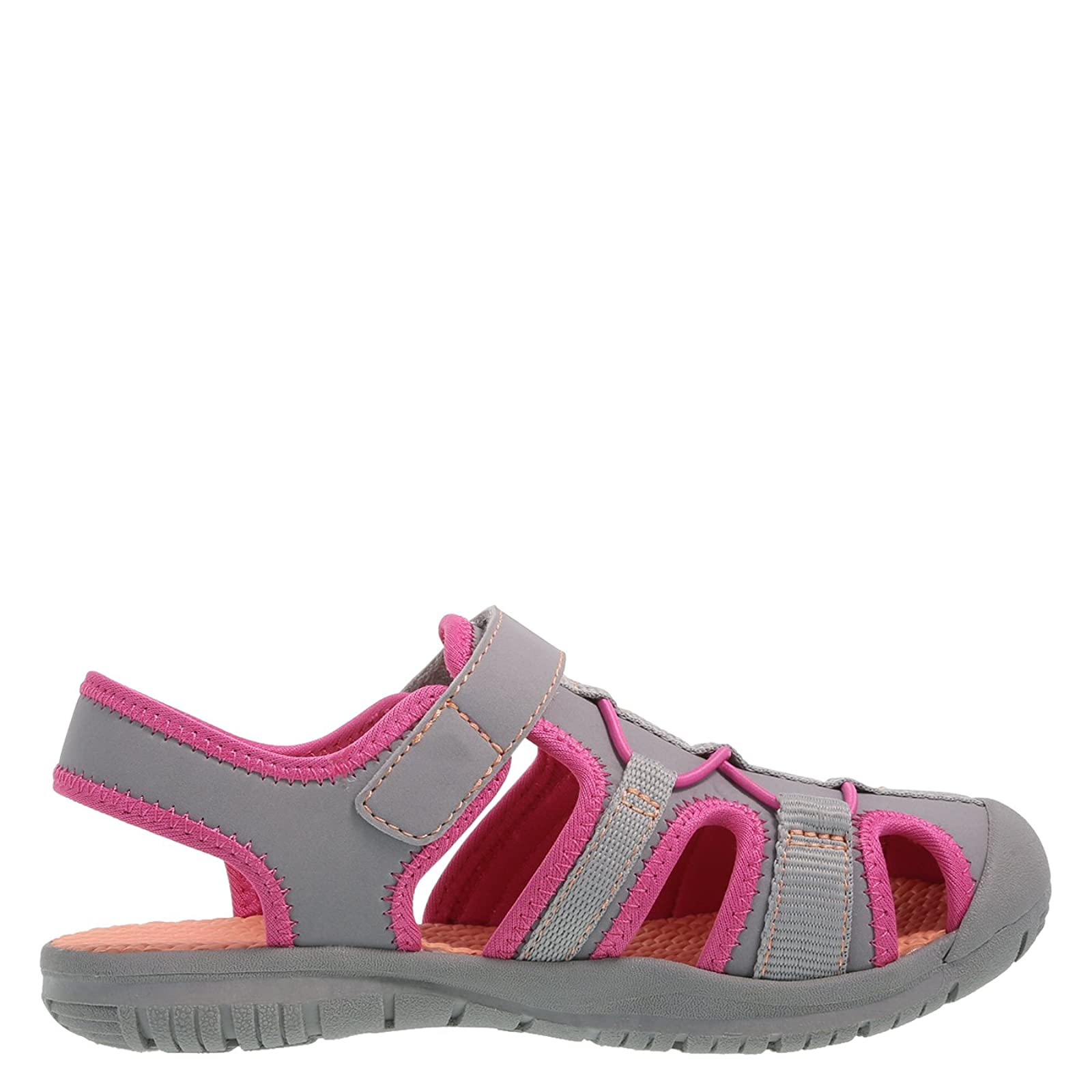 Rugged Outback Grey Pink Girls' Marina Bumptoe 175191040 - 1