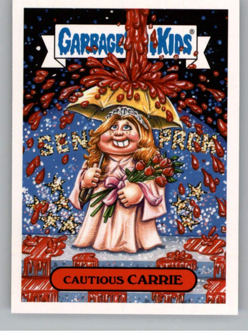 5A CAUTIOUS CARRIE 2018 Garbage Pail Kids Horror-ible RETRO HORROR CARRIE