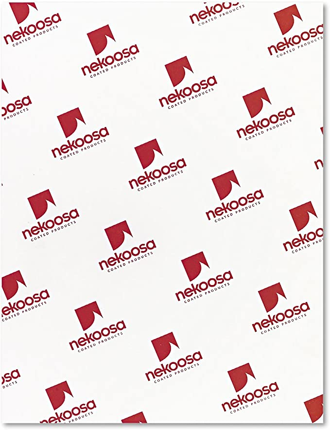 NEK17392 Nekoosa Digital Carbonless Paper 2500 per Carton 8-1//2 x 11