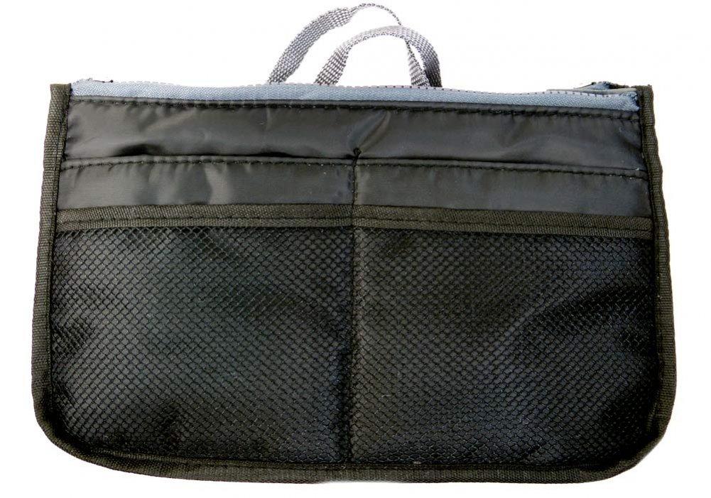 Gift Gallery Multi Pocket Purse Organizer-Black