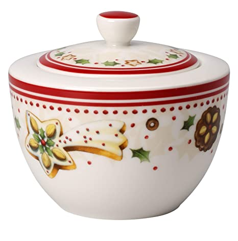 Villeroy & Boch 14-8612-0930 Azucarero o Bote de Mermelada Winter Bakery Delight