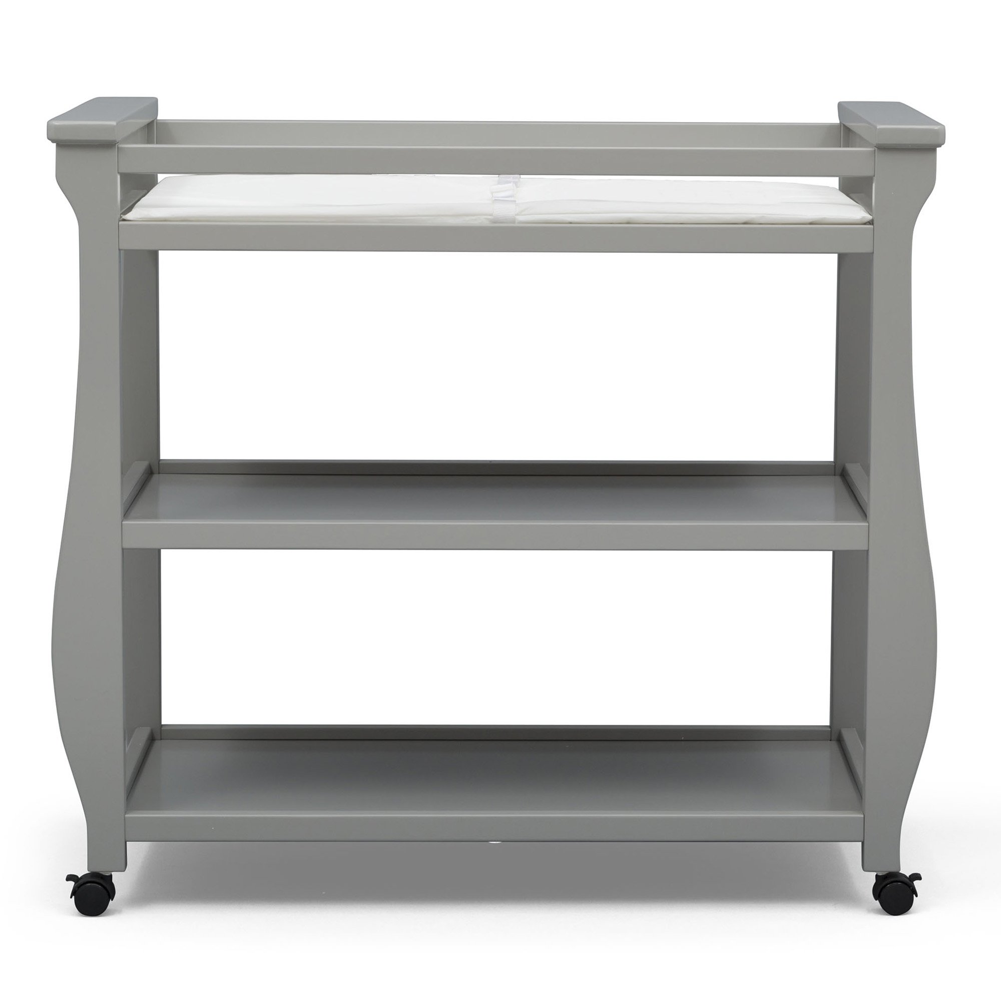 Delta Children Lancaster Changing Table, Grey by Delta Children (Image #6)