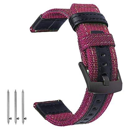 Amazon.com: Olytop - Correa para reloj inteligente Gear S3 ...