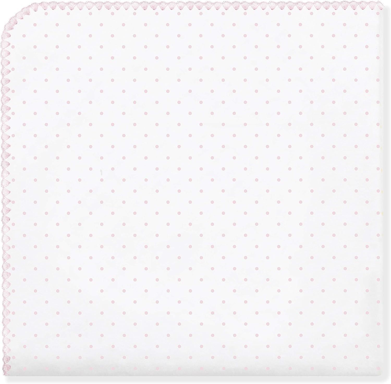 SwaddleDesigns Manta Envolvente Ultimate Lunares Franela de Algod/ón de calidad superior Rosa pastel