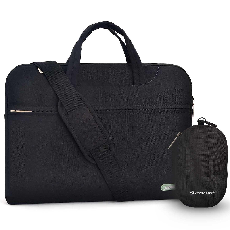 激安特価 14 インチ pcケース, 衝撃防止 B071FJPCP3 14-15.4インチ ラップトップスリーブバッグ 防水 防震 防震 ビジネス 手提げカバン ショルダーストラップ付き ノートPC収納用インナーケース MacBook Air/Pro/ 超本/Dell/Sony/Samsung/東芝/asus エイサー パソコン 衝撃防止 保護用キャリングバッグ 男女兼用 多機能 (黒い) 14 inch ブラック B071FJPCP3, レインワールド:b65df406 --- a0267596.xsph.ru