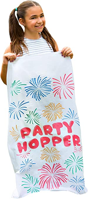 8 Pack - Durable Potato Sack Race Bags, No Weird Burlap Odors or Messy Fibers, Great for Kids and Adults, 23.5