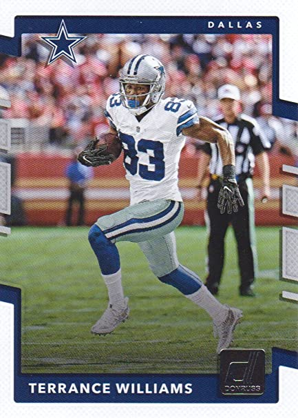 f34d96c004f Image Unavailable. Image not available for. Color  2017 Donruss Football   90 Terrance Williams Dallas Cowboys