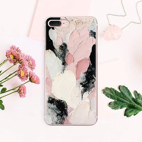 quality design c0cc2 d597e Amazon.com: Oil Paint Aesthetic Brush Strokes Case Cell Phone ...