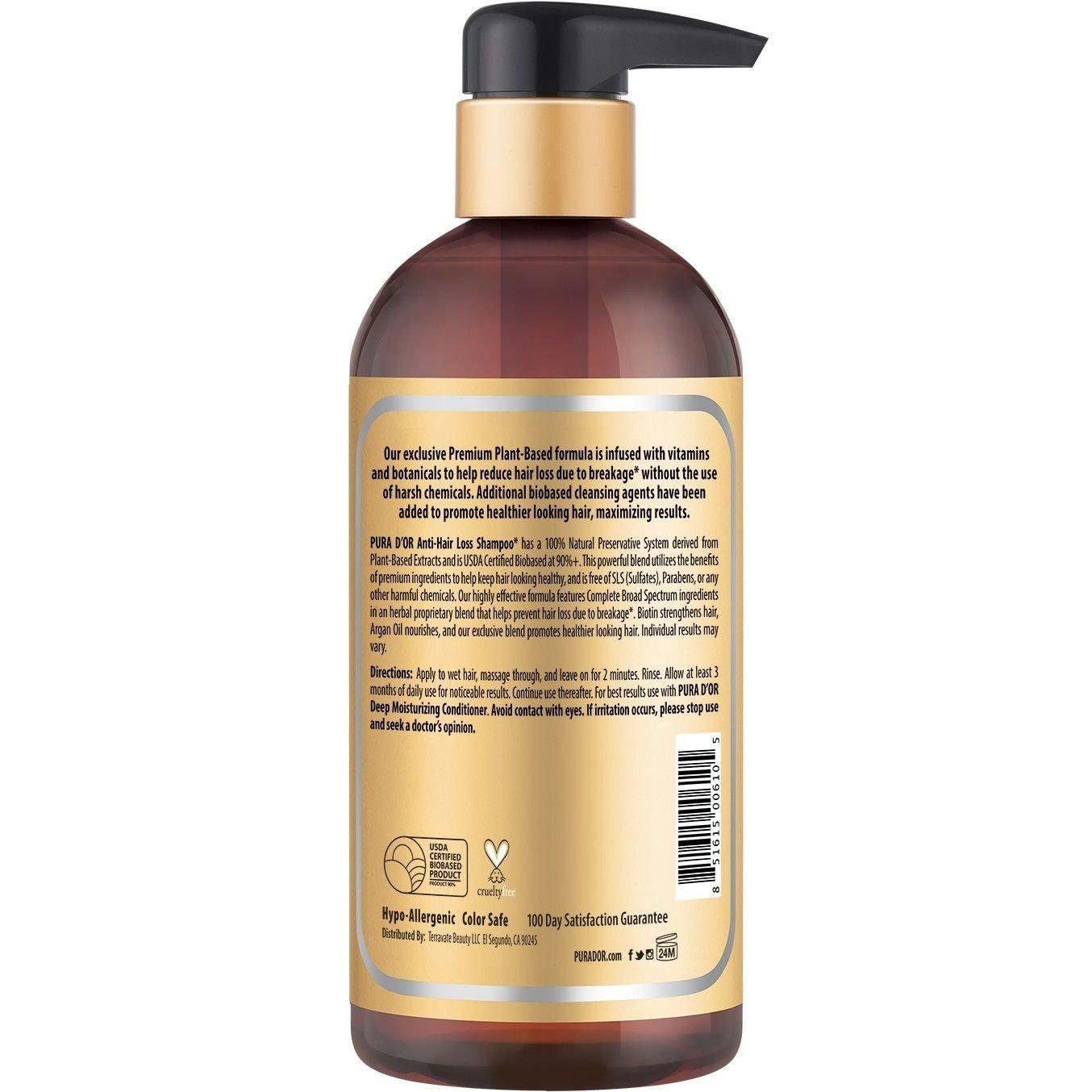 Amazon.com: Generic Anti-Hair Loss Argan Oil Shampoo Gold Label: Cell Phones & Accessories