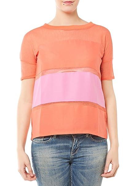 GUESS Blusa Naranja S