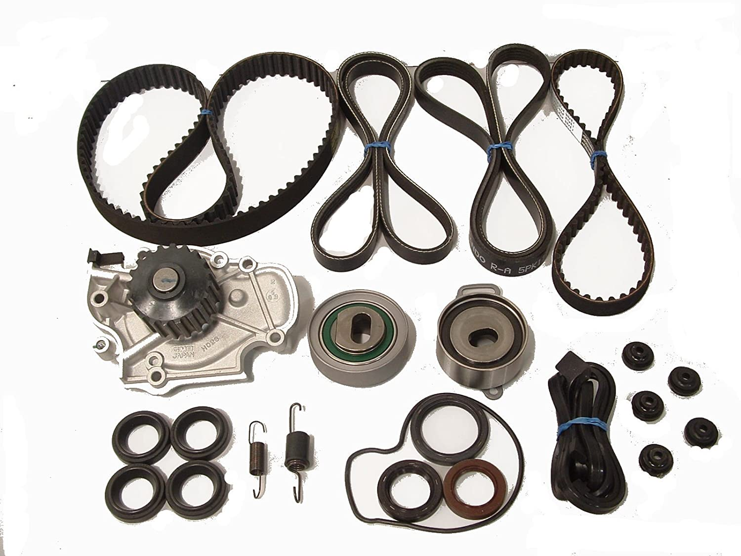 Amazon.com: TBK Timing Belt Kit Honda Accord 1998 to 2002 Dx Lx Ex VP 4cyl  Aisin Water Pump Koyo Bearings, Bando Drive Belts Springs and Seals:  Automotive