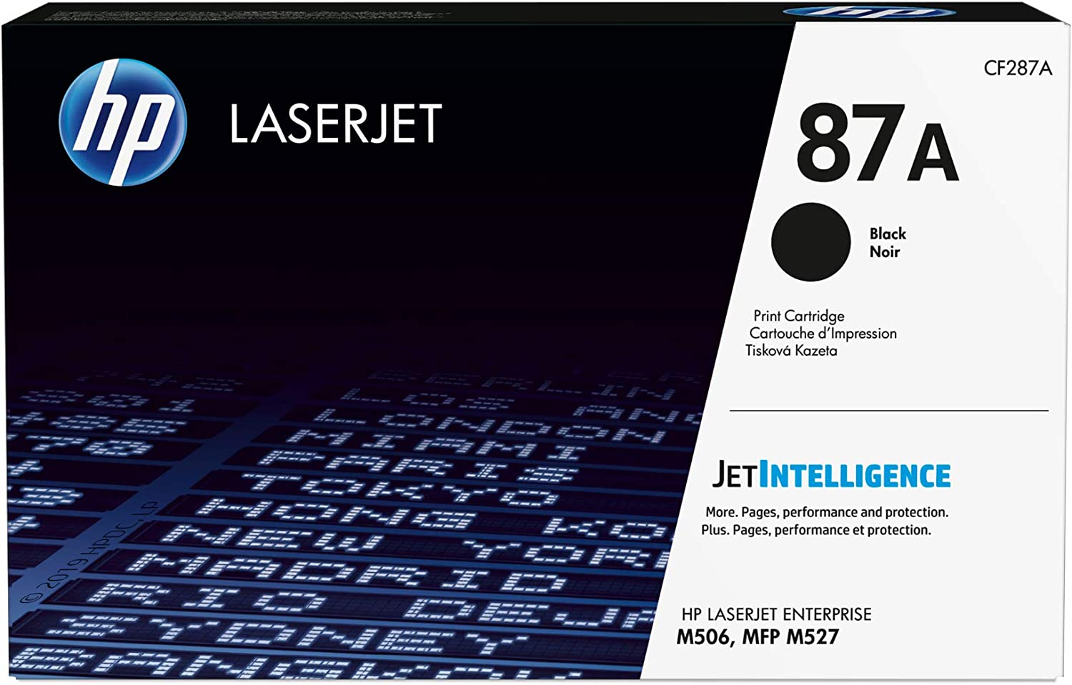 HP 87A | CF287A | Toner Cartridge | Black