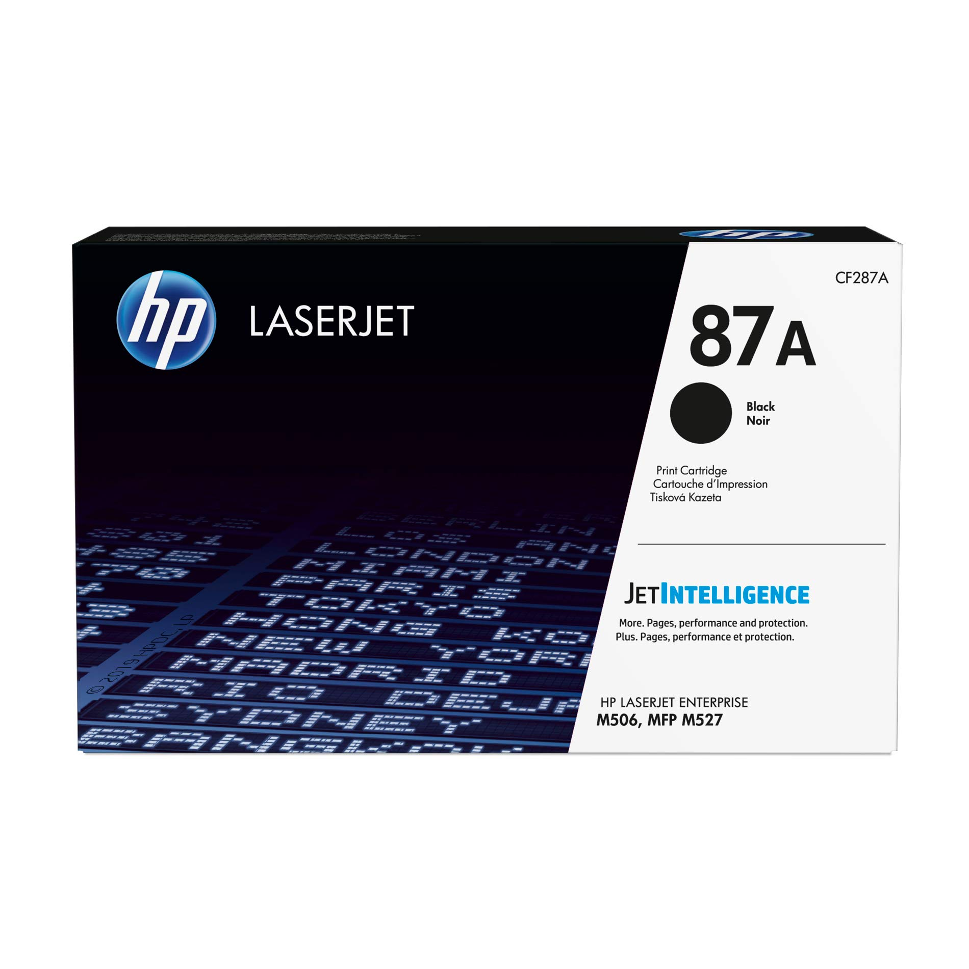HP 87A (CF287A) Black Toner Cartridge for HP LaserJet Enterprise M527 M506 M501