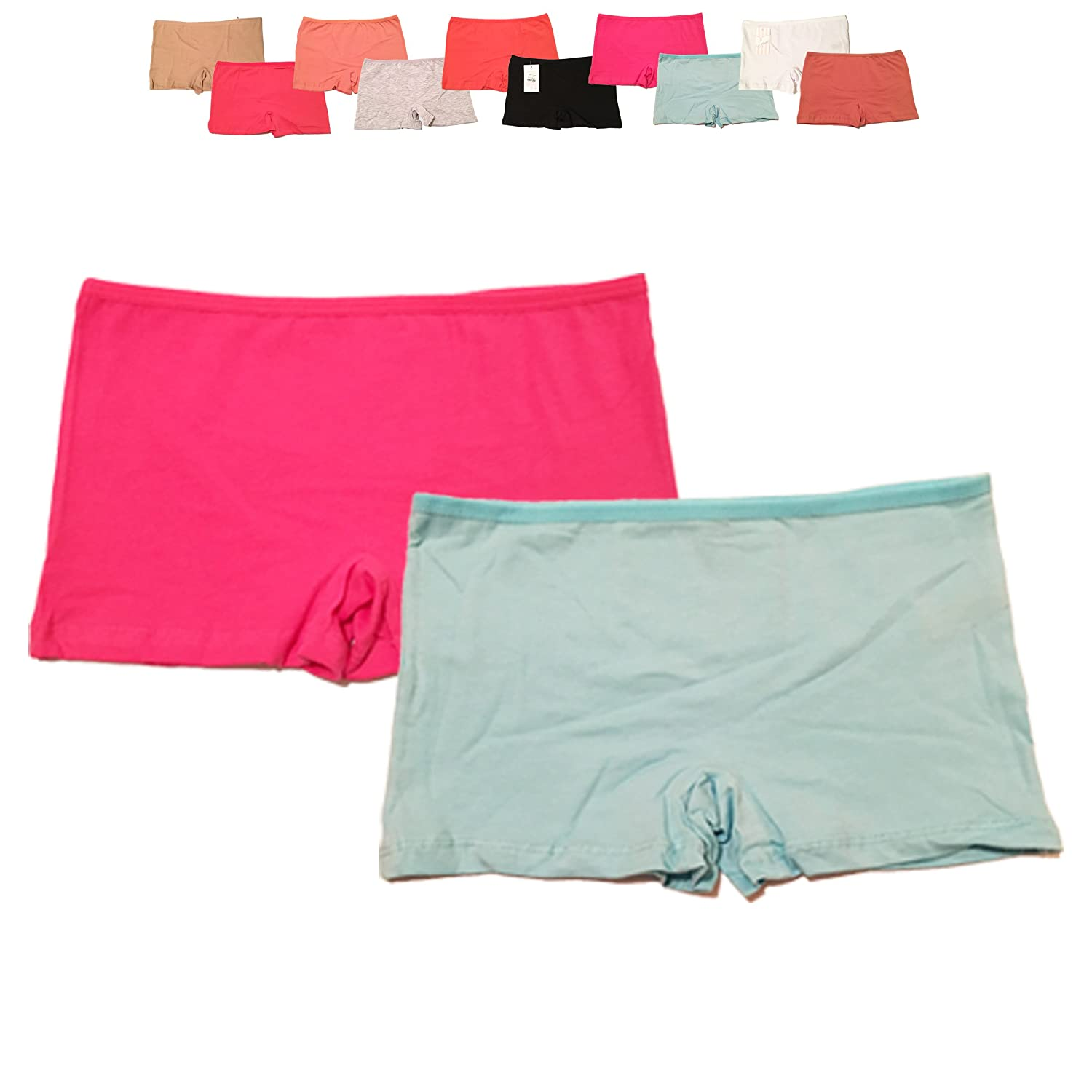 Boy Shorts Ladies Panties//Knickers Various Colours /& Sizes