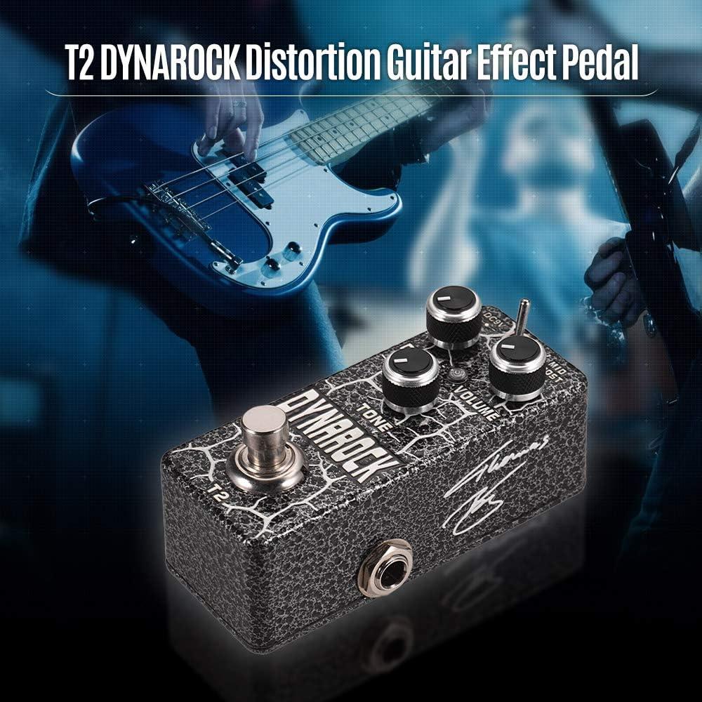 Muslady XVIVE T2 DYNAROCK Distorsión Pedal de Efecto de Guitarra ...