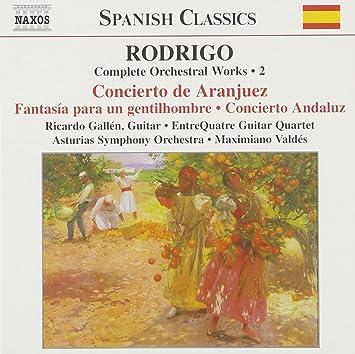 Amazon.com: Rodrigo: Complete Orchestral Works, Vol. 2: Music