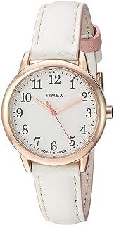 8141056cdfb7 Amazon.com  Timex Women s TW2R62600 Easy Reader 38mm Blue Gold-Tone ...