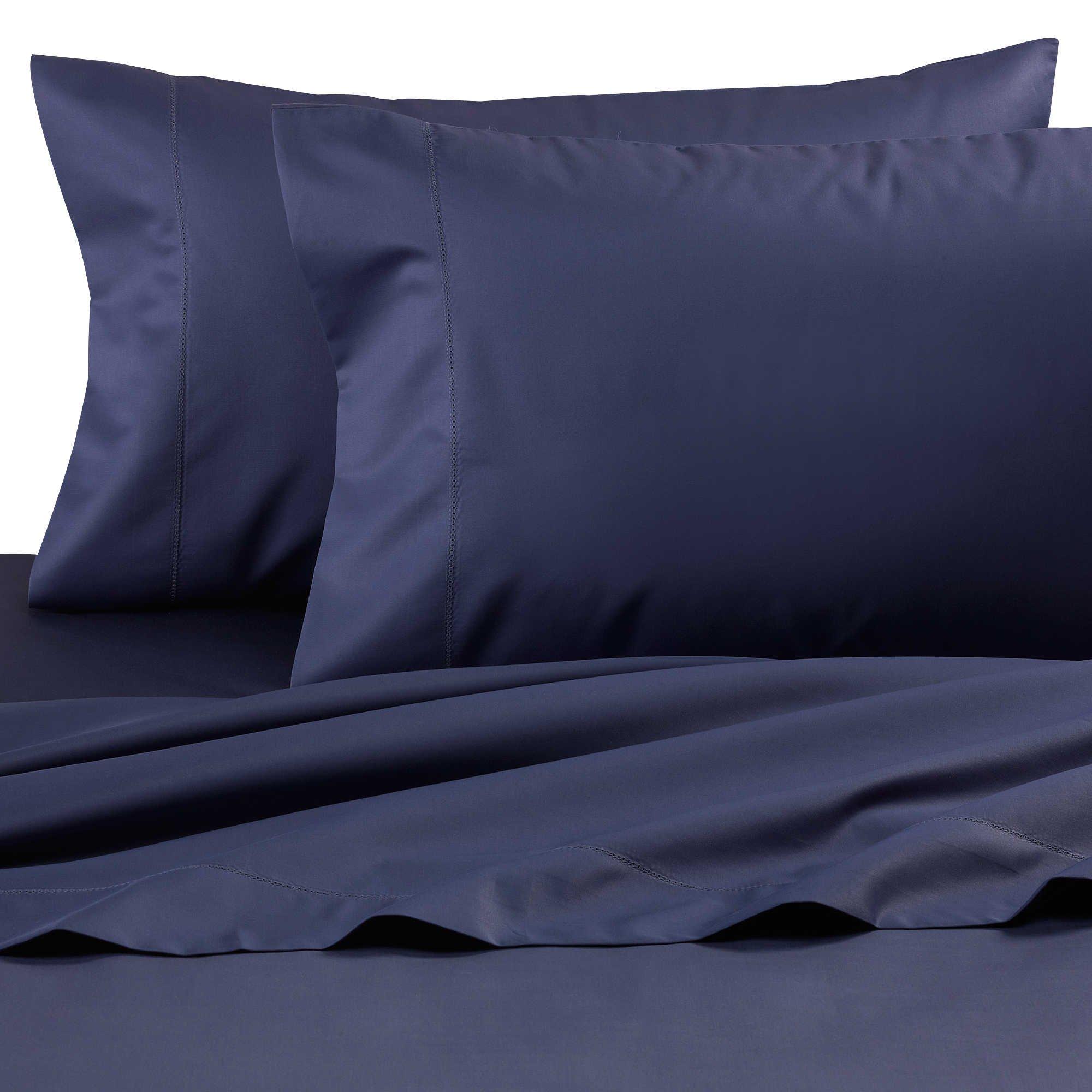 Wamsutta Dream Zone Nightshadow Blue King Sheet Set, 750 Thread Count
