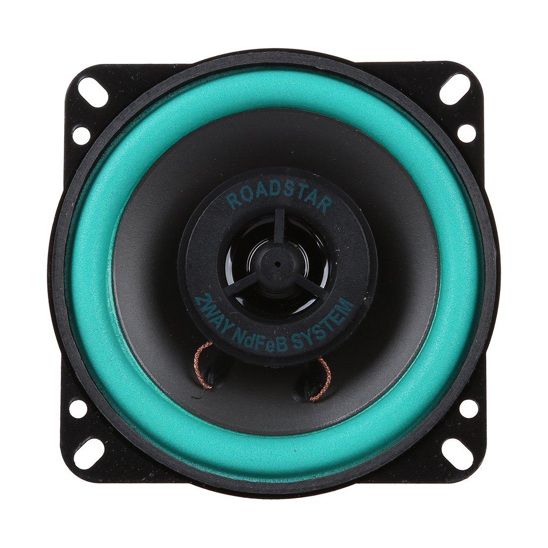 SODIAL(R) Haut parleurs de graves et d'aigus de 4 pouces de voiture 008863