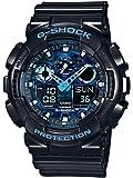 Casio G-Shock – Herren-Armbanduhr mit Analog/Digital-Display und Resin-Armband – GA-100CB-1AER