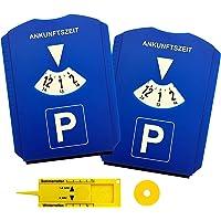 2 Discos de estacionamiento aparcamiento con chip