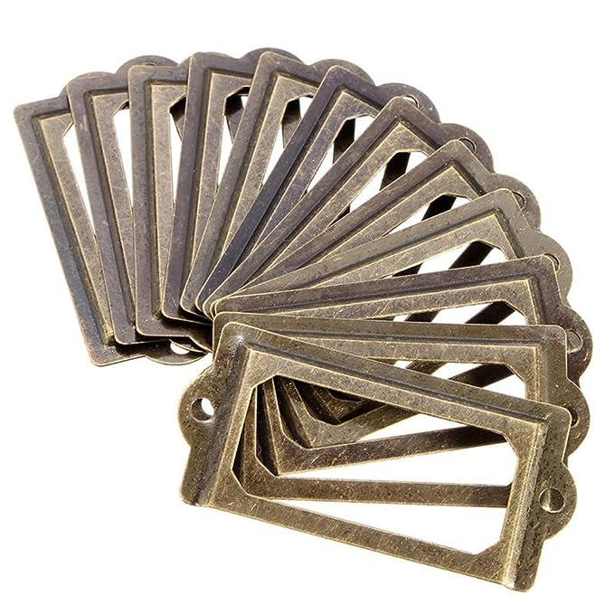 30 x 30 mm Eckschutz bronzefarben Yibuy Holzkasten