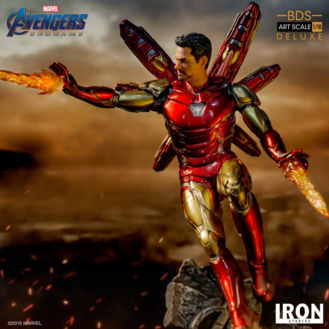 Iron Man Mark LXXXV Avengers Issue BDS Art Scale Iron Studios Limited Edition