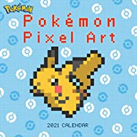 Pokemon Pixel Art 2021 Wall Calendar