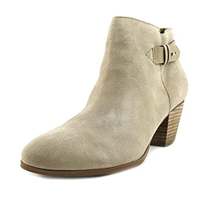 GUESS Womens Geora Ivory Multi Suede Boot