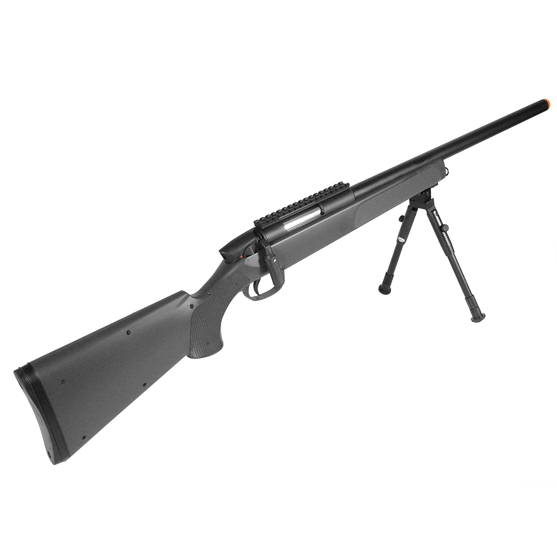 amazon com game face gf529 sniper carbine airsoft rifle 6mm bb