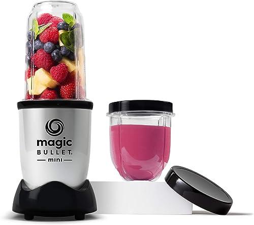Magic-Bullet-Mini-Blender,-7-Piece-Set,-200-Watt-with-Cross-Blade