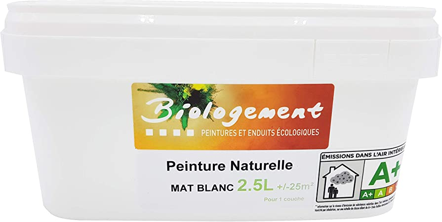 Peinture Blanche Mat Mur Et Plafond Monocouche Peinture